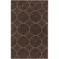 Hand-tufted Colorado Chocolate Moroccan Tile Area Rug - 2' x 3'