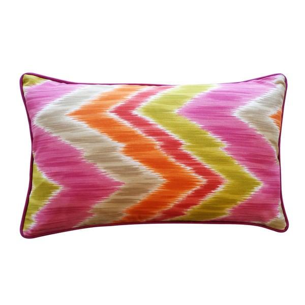 Jiti 'Mountain' Pink 12-inch x 20-inch Pillow