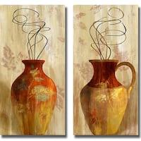 Lanie Loreth 'Fall Vessel I and II' 2-piece Canvas Art Set