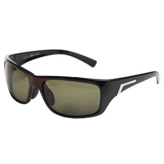 Serengeti Men's 'Orvieto' Satin Red Granite Polarized Sunglasses