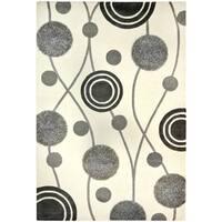 Safavieh Handmade New Zealand Wool Galaxy Beige/ Grey Rug - 6' x 9'