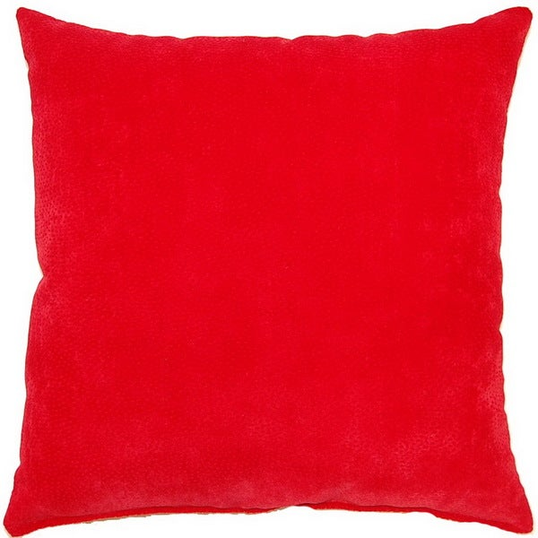 Cosmo Scarlet Red 17-inch Throw Pillows (Set of 2)