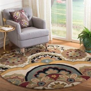 Safavieh Handmade Soho Ivory New Zealand Wool Area Rug