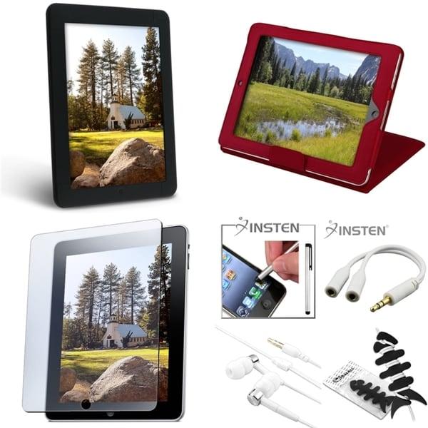INSTEN Case/ Headset/ Wrap/ Splitter/ Plug/ Protector for Apple iPad 1