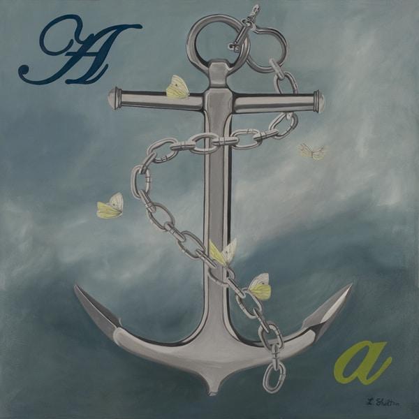Lacey Shelton 'You're My Anchor' Art Print