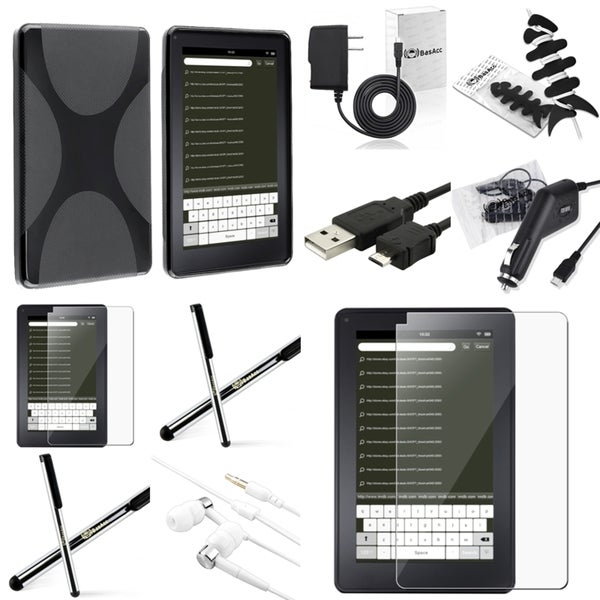 BasAcc Case/ Chargers/ Cable/ Protector for Amazon Kindle Fire