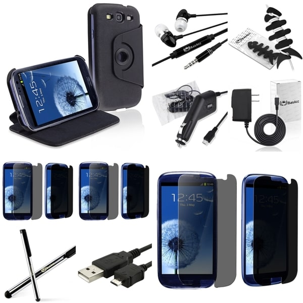 BasAcc Case/ Protector/ Cable/ Headset for Samsung Galaxy S III/ S3
