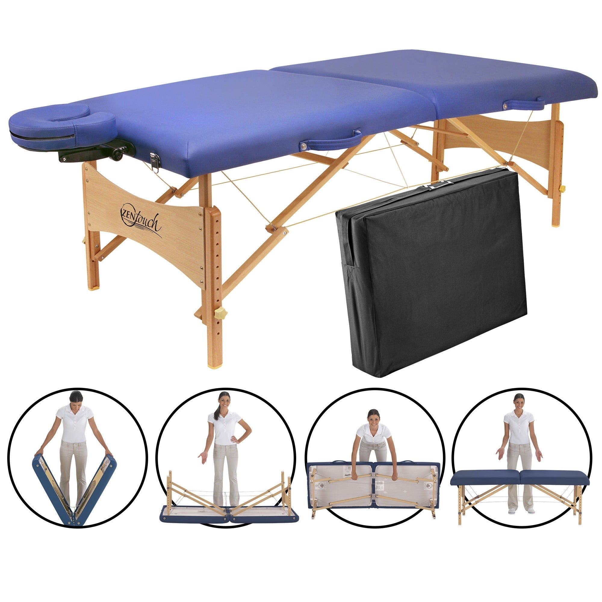 Master Massage ZenTouch 27-inch Brady Portable Massage Ta...