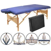 Master Massage ZenTouch Brady 27-inch Portable Massage Table with Carry Case