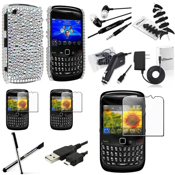 BasAcc Case/ Charger/ Cable/ Protector for BlackBerry Curve 8520/ 8530