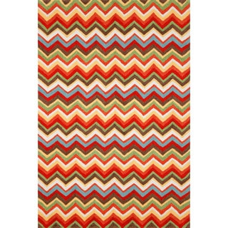 Chevron Outdoor Rug (7'6 x 9'6)