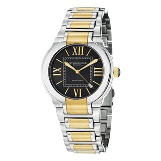 Stuhrling Original Men's Tribune Quartz Stainless-Steel Gold-and-Silver Bracelet Watch