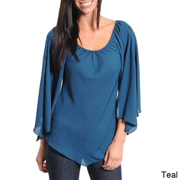 Stanzino Women's Bell Sleeve Top