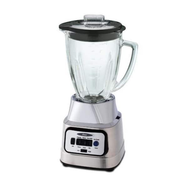 Oster Bcbg08 C 6 Cup Glass Jar 8 Speed Blender With Food