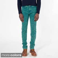 American Apparel Men's Stretch Mineral Wash Bull Denim Slacks