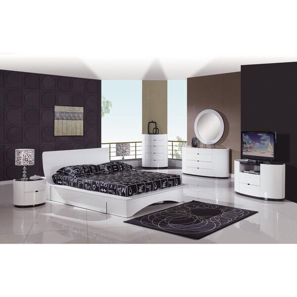 Gia Contemporary Queen Platform Bed