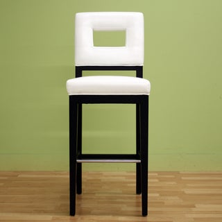 "Traditional 30"" Bar Stool by Baxton Studio"