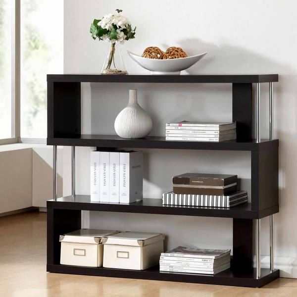 Porch & Den Victoria Park Sunrise Alternating 3-tier Modern Shelf
