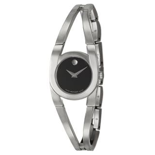 Movado Women's 'Amorosa' Stainless Steel Swiss Quartz Watch|https://ak1.ostkcdn.com/images/products/7618049/P15039157.jpg?impolicy=medium