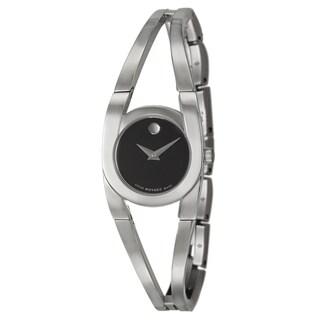 Movado Women's 'Amorosa' Stainless Steel Swiss Quartz Watch