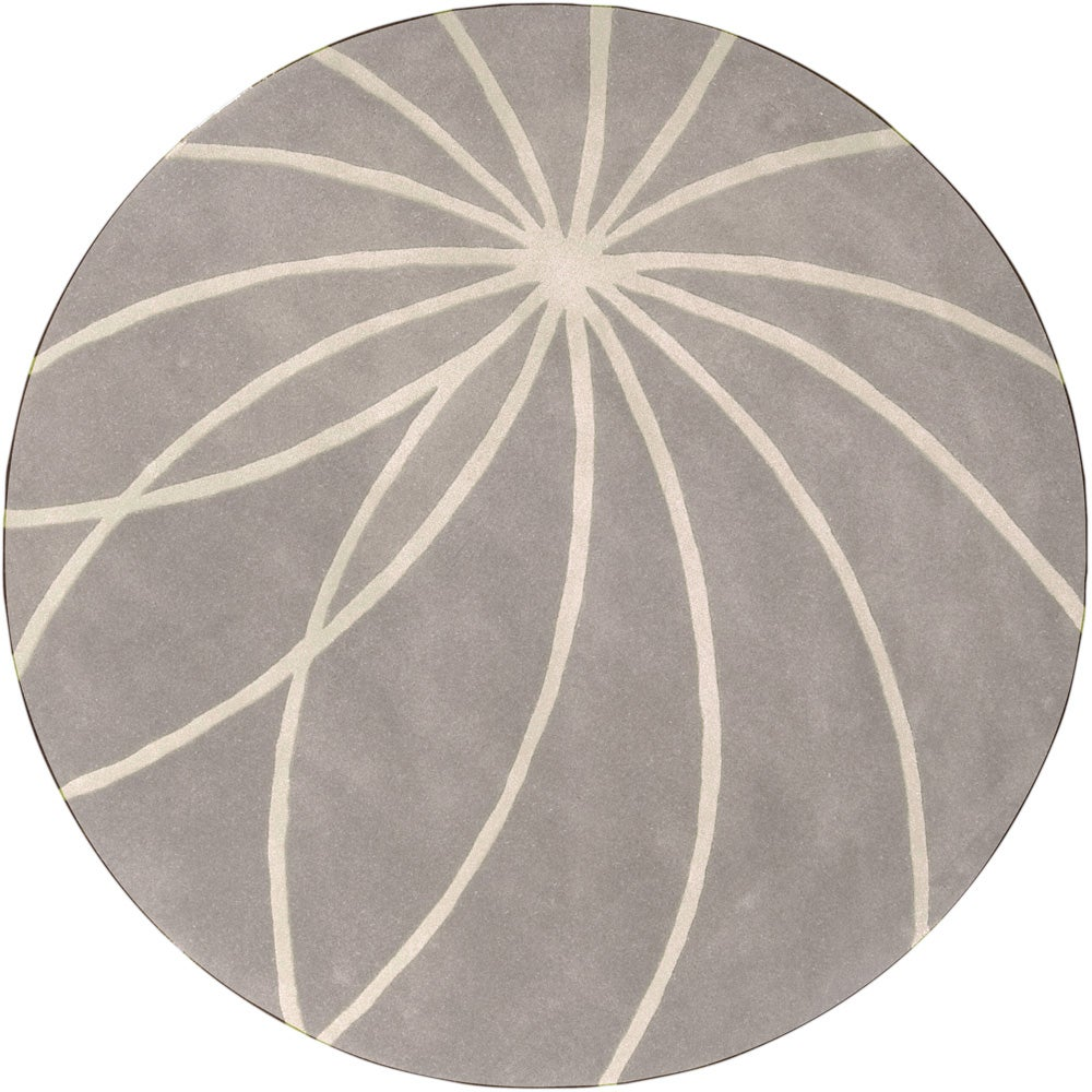 SURYA Hand-tufted Fiumicino Dove Grey Floral Wool Rug (8'...