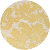 Hand-tufted Antique White Monaco Wool Area Rug - 6'
