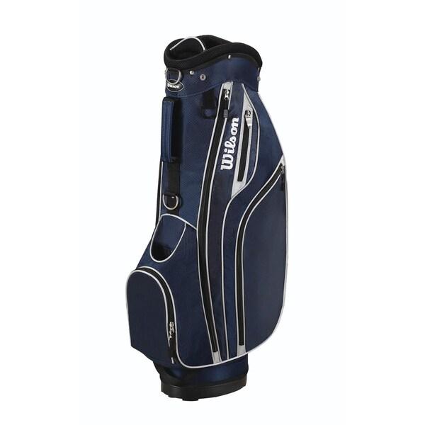 Wilson Lite Blue Cart Golf Bag