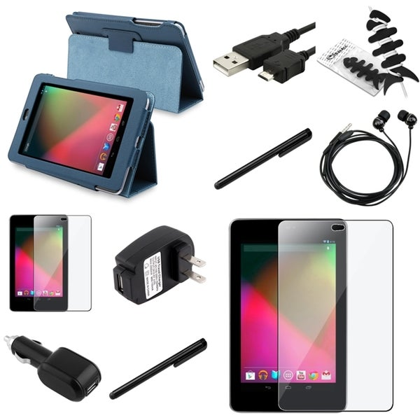 BasAcc Case/ Chargers/ Protector/ Headset for Google Nexus 7