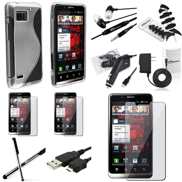 BasAcc Case/ Charger/ Cable/ Headset for Motorola Droid Bionic XT875
