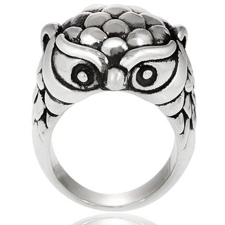 Journee Collection Sterling Silver Owl Ring|https://ak1.ostkcdn.com/images/products/7618968/7618968/Tressa-Sterling-Silver-Owl-Ring-P15039882.jpeg?_ostk_perf_=percv&impolicy=medium