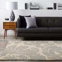 Hand-tufted Bay Leaf Modena Wool Area Rug - 10' x 14'