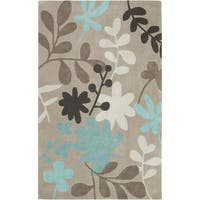 Hand-tufted Martil1 Feather Ivory Area Rug - 9' x 13'