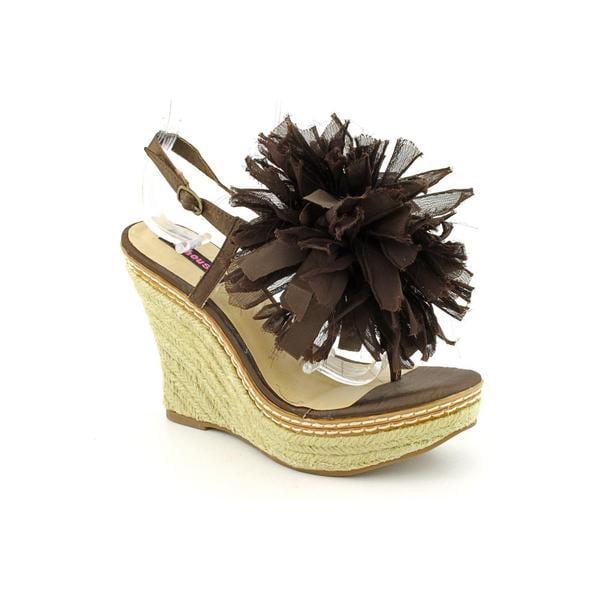 Dollhouse Women's 'Bonsai' Man-Made Sandals