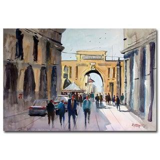 Ryan Radke 'Italian Impressions IV' Canvas Art