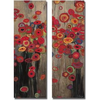 Don Li-Leger 'Garden Parade I and II' 2-piece Canvas Set
