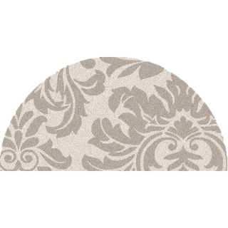 Hand-tufted Bay Leaf Modena Wool Rug (2' x 4' Hearth)