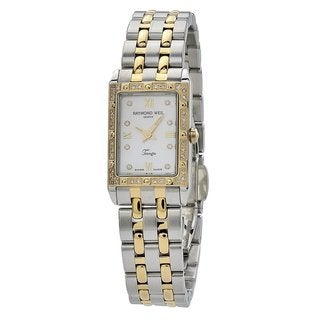 Raymond Weil Tango Women's Rectangular Case Mother of Pearl Dial Watch