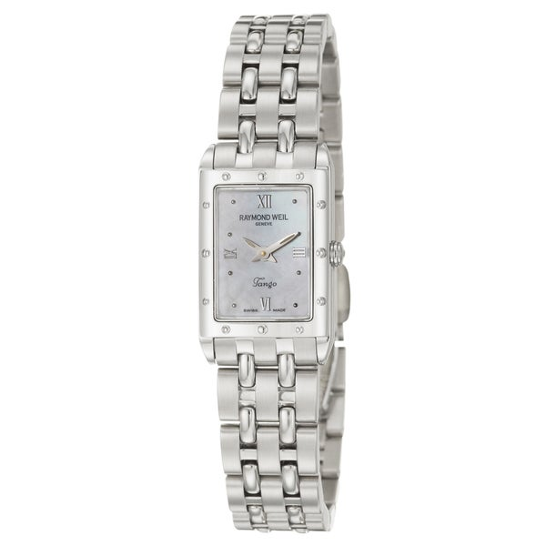 Raymond Weil Tango Women's Mini Mother of Pearl Dial Watch