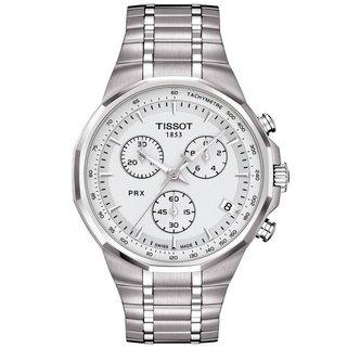 Tissot Men's PRX Classic Chronograph Silver Dial Watch
