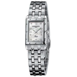 Raymond Weil Tango Women's Mother of Pearl Diamond Dial Watch