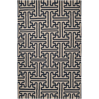 Handwoven Treviso3 Wool Rug (9' x 13')