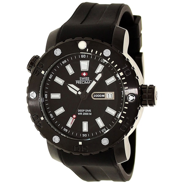 Swiss Precimax Men's Steel Master Marine Deep Dive Watch