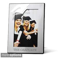 "4x6"" Engraved Graduation Cap Picture Frame"