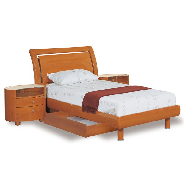 Emily Cherry Queen Bed