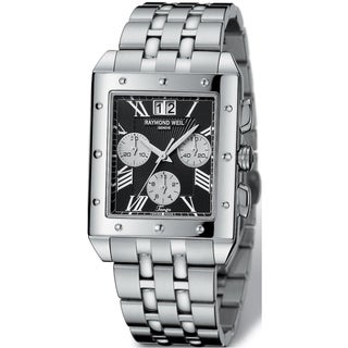 Raymond Weil Men's Stainless Steel Chronograph Watch