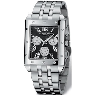 Raymond Weil Men's Stainless Steel Chronograph Watch