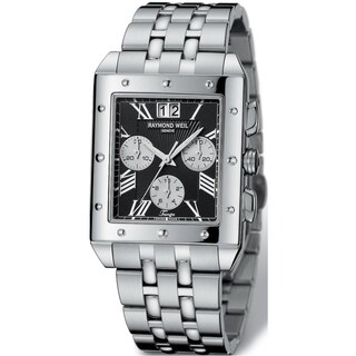 Link to Raymond Weil Men's Stainless Steel Chronograph Watch Similar Items in Men's Watches