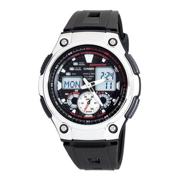 Casio Men's Steel Analog-digital Sport Watch