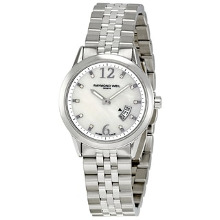 Raymond Weil Women's Steel 'Freelancer' Watch