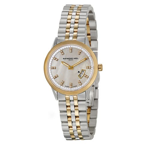 Raymond Weil Women's Steel 'Freelancer' Watch - Two-Tone